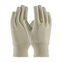 PIP® Economy Grade Cotton Canvas Single Palm Glove - Knitwrist  (#90-908CI)