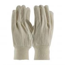 PIP® Economy Grade Cotton Canvas Single Palm Glove - Knitwrist  (#90-908I)