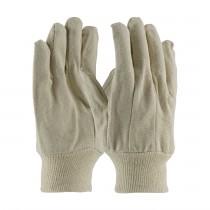 PIP® Economy Grade Cotton Canvas Single Palm Glove - Knitwrist  (#90-910I)