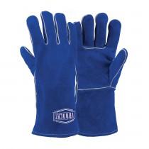Ironcat® Shoulder Split Cowhide Leather Welder's Glove with Cotton Foam Liner and Kevlar® Stitching-Ladies  9(#012L)