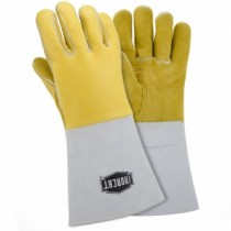 Ironcat® Ironcat® Top Grain Elkskin Leather Welder's Glove with Cotton Foam Liner and Kevlar® Stitching  (#9060)