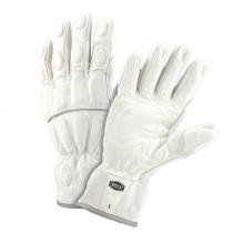 Ironcat® Hi-Viz Buffalo Utility Glove with Foam Padded Knuckle, Dorsal & Wrist Guards - Kevlar® Stitched  (#9074)