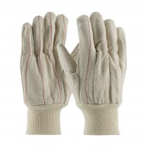 PIP® Cotton Canvas Double Palm Glove with Nap-in Finish - Knitwrist  (#92-918)