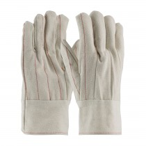 PIP® Cotton Canvas Double Palm Glove with Nap-in Finish - Band Top  (#92-918BT)