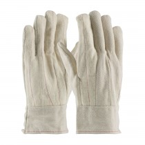 PIP® Cotton Canvas Double Palm Glove with Nap-out Finish - Band Top  (#92-918BTO)