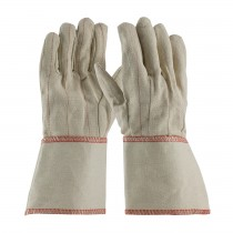 PIP® Cotton Canvas Double Palm Glove with Nap-in Finish - Gauntlet Cuff  (#92-918G)