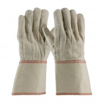 PIP® Cotton Canvas Double Palm Glove with Nap-out Finish - Gauntlet Cuff  (#92-918GO)
