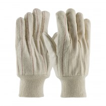 PIP® Cotton Canvas Double Palm Glove with Nap-out Finish - Knit wrist  (#92-918O)