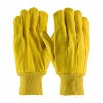 PIP® Premium Grade Cotton Chore Glove with Double Layer Palm/Back and Nap-out Finish - Knitwrist  (#93-598)