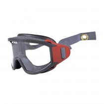 X-Tricator™ Fire & Rescue Helmet Goggle with Advanced ESS ClearZone™ FlowCoat Lens and Two-Piece Strap  (#937-ESS01CB-EXS)