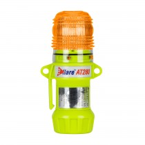 """Eflare™ 6"""" Safety & Emergency Beacon - Flashing / Steady-On Amber  (#939-AT280-A)"""