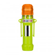 """Eflare™ 8"""" Safety & Emergency Beacon - Flashing / Steady-On Amber  (#939-AT290-A)"""