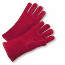 Premium Russet Side Split Cowhide Leather Welder Gloves (#9400)