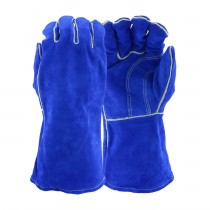 West Chester® Premium Split Cowhide Leather Welder's Glove with Cotton Liner and Kevlar® Stitching  (#945)