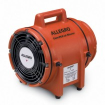 "Allegro 8"" AC Explosion Proof COM-PAX-IAL Plastic Blower without canister (#9538)"