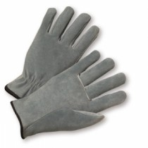 PIP® Regular Grade Split Cowhide Leather Drivers Glove - Straight Thumb  (#980)