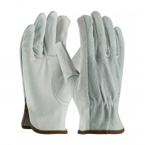 PIP® Select Grade Top Grain Drivers Glove with Shoulder Split Cowhide Leather Back - Keystone Thumb  (#983K)