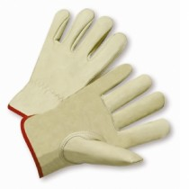 PIP® Top Grain Cowhide Leather Drivers Glove - Keystone Thumb  (#990K-A)