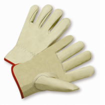 PIP® Select Grade Top Grain Cowhide Leather Drivers Glove - Keystone Thumb  (#990IK)