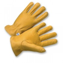 PIP® Premium Grade Top Grain Deerskin Leather Drivers Glove - Keystone Thumb  (#9920K)