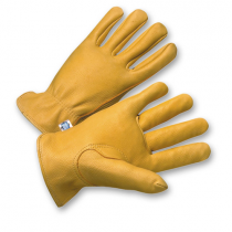 PIP® Regular Grade Top Grain Deerskin Leather Drivers Glove - Keystone Thumb  (#9925K)