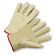 PIP® Top Grain Cowhide Leather Drivers Glove - Keystone Thumb  (#995K)