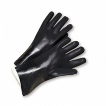 "West Chester® PVC Dipped Glove with Jersey Liner and Rough Finish - 10""  (#WJ1017RF)"