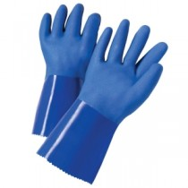 "West Chester® PVC Dipped Glove with Interlock Liner and Rough Finish - 12""  (#J1327)"