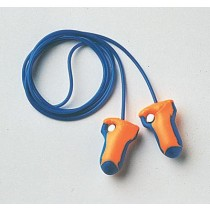 Laser Trak Detectable Earplugs, corded (#LT-30)