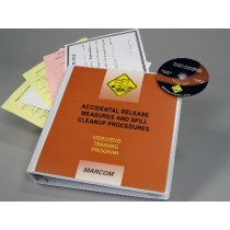 HAZWOPER: Accidental Release Measures and Spill Cleanup Procedures DVD Program (#V0001779EW)