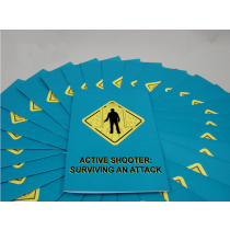 Active Shooter: Surviving An Attack Booklet (#B0002700EM)