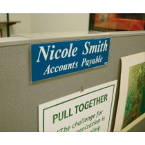 Small Partition Sign Holder (#APH1)