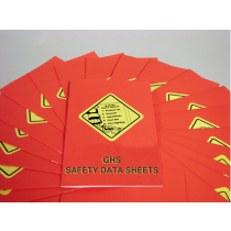 GHS Safety Data Sheets Booklets (#B0001550EX)