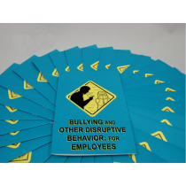 Bullying and Other Disruptive Behavior: for Employees Booklet (#B0002660EM)
