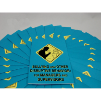 Bullying and Other Disruptive Behavior: for Managers and Supervisors Booklet (#B0002670EM)