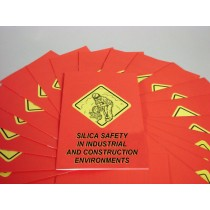 Silica Safety in Industrial and Construction Environments Booklet (#B0003140EM)