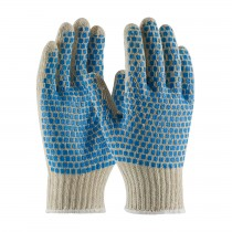 PIP® Seamless Knit Cotton / Polyester Glove with Double-Sided PVC Brick Pattern Grip  (#B710SBS)