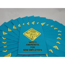Safety Awareness for New Employees Booklet (#B0002500EM)