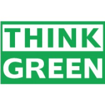 Think Green Banner