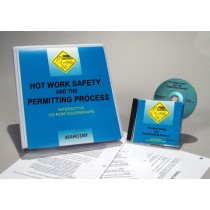 Hot Work Safety and the Permitting Process Interactive CD (#C0002870ED)