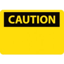 Caution Sign (blank) (#C1LF)