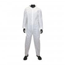 White SMS Basic Coverall (#C3850)