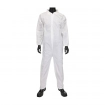 West Chester® SMS - Coverall with Elastic Wrist & Ankle  (#C3852)