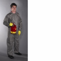 PosiM3 Gray Coverall with Elastic Wrist & Ankles (#C3902)
