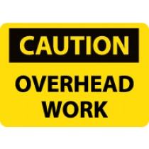 Caution Overhead Work Sign (#C574)