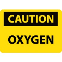 Caution Oxygen Sign (#C575)