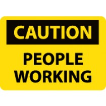 Caution People Working Sign (#C578)