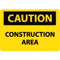 Caution Construction Area Sign (#C644LF)