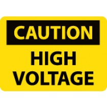 Caution High Voltage Sign (#C668LF)