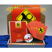 Caught-In/Between Hazards in Construction Environments DVD Kit (#K0002769ET)